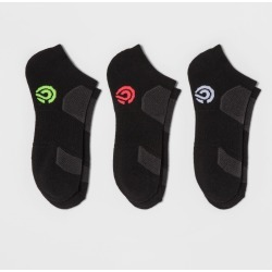 Women's Low-Cut Socks with Cushion 3pk - C9 Champion Black 5-9, Size: Small found on Bargain Bro Philippines from target for $10.99