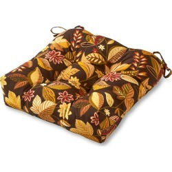 Timberland Floral Outdoor Seat Cushion - Kensington Garden, Brown Multicolored found on Bargain Bro Philippines from target for $22.49
