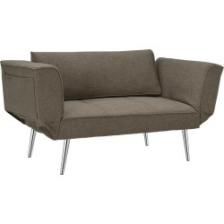 Euro Futon - Gray - Dorel Home Products