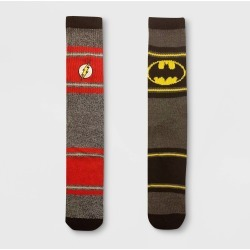 Men's DC Comics Justice League 2pk Athletic Crew Socks - Black 6-12, Size: Small found on Bargain Bro Philippines from target for $9.99