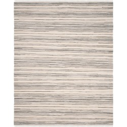 Ivory/Gray Stripes Woven Accent Rug - (3'x5') - Safavieh found on Bargain Bro Philippines from target for $61.74