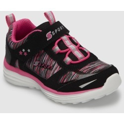 Toddler Girls' S Sport By Skechers Tyro Performance Athletic Shoes - Black 8, Girl's found on Bargain Bro Philippines from target for $26.99