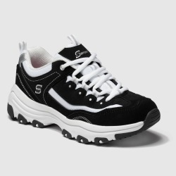 Women's S Sport by Skechers Gabie Lace up Training Sneakers - Black 6, Women's found on Bargain Bro Philippines from target for $39.99