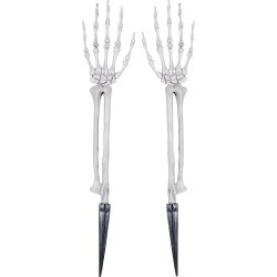 "19.9 ""Halloween Skeleton Hands"
