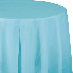 Blue Round Tablecover, disposable tableware accessories