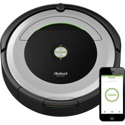 iRobot Roomba 690 Robot Vacuum, Light Silver