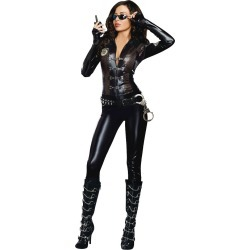 Halloween Women's Special Ops Costume - Small, Black