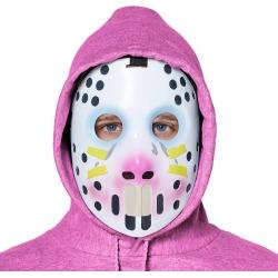 Halloween Adult Fortnite Rabbit Raider Halloween Costume Mask, Adult Unisex, White