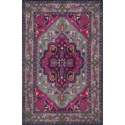 3'X5' Medallion Accent Rug Gray/Pink - Safavieh found on Bargain Bro India from target for $123.49