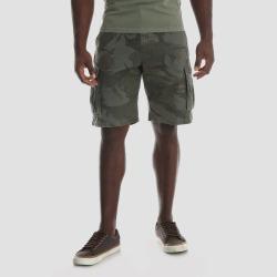 0e76274280 Wrangler Men's Camo Print 10 Twill Cargo Shorts - Dark target