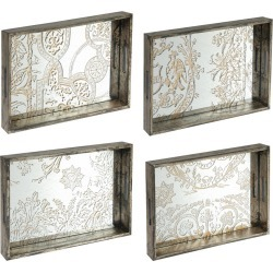 Decorative Trays - Set of 4 - A&B Home