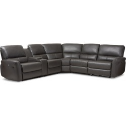 Serta Axis Convertible Storage Sofa With Usb Ports Model