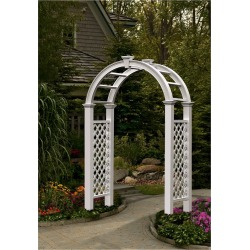 "94"" Nantucket Legacy Arbor - New England Arbors"