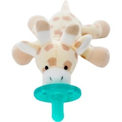 WubbaNub Giraffe Pacifier - Brown found on Bargain Bro India from target for $13.99