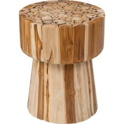 Lawton Teak Accent Table Brown - East At Main found on Bargain Bro India from target for $179.00