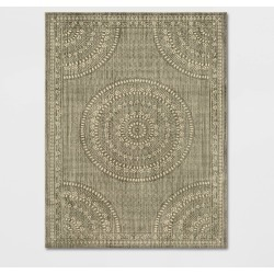 10'X13' Geometric Woven Novelty Area Rug Desert Tan - Threshold , Brown found on Bargain Bro India from target for $399.99