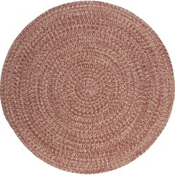 Tremont Braided Accent Rug - Rosewood - (4' Round) - Colonial Mills, Size: 4'X4' found on Bargain Bro India from target for $96.99