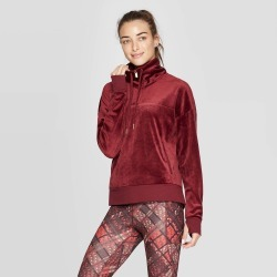 Women's Training Cozy Quarter Zip Pullover - C9 Champion Berry XL, Pink found on Bargain Bro India from target for $20.99