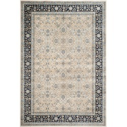 8'X10' Floral Loomed Area Rug Ivory/Navy - Safavieh, Ivory/Blue found on Bargain Bro Philippines from target for $487.49