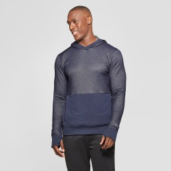 Men's Hooded Sweater Knit Layer - C9 Champion Navy Heather XL found on Bargain Bro India from target for $34.99