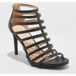 ac3c709fd2cd Women s Charlene Caged Heel Pumps - A New Day Black 10 found on MODAPINS  from target