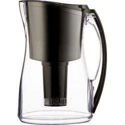 Brita Marina 8 Cup Water Pitcher - Black, Black & Clear found on Bargain Bro India from target for $42.49