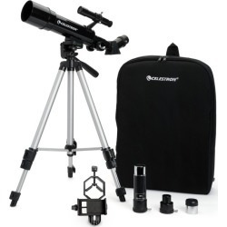 Celestron Travel Scope Portable Telescope with Basic Smartphone Adapter - Black found on Bargain Bro India from target for $59.99