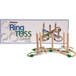 Champion Sports Deluxe Ring Toss Roundnet Set