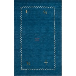 6'X9' Tribal Design Loomed Area Rug Blue - Safavieh found on Bargain Bro India from target for $299.99