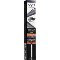 NYX Professional Makeup Glitter Goals Liquid Lipstick Alienated - 0.1 fl oz