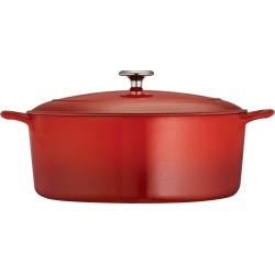 Tramontina 7 Quart Cast Iron Dutch Oven - Red