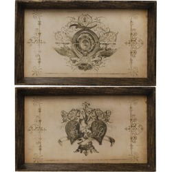 Decorative Trays - Set of 2 - A&B Home