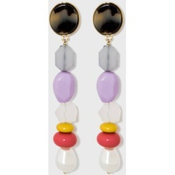 SUGARFIX by BaubleBar Colorful Mixed Media Drop Earrings, Women's, MultiColored