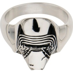 Men's Star Wars Lead Villain Kylo Ren Stainless Steel 3D Ring, Size: 9, Silver found on MODAPINS from target for USD $18.99