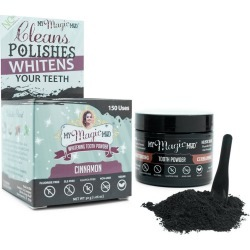 My Magic Mud Activated Charcoal Tooth Powder Cinnamon - 1.06oz