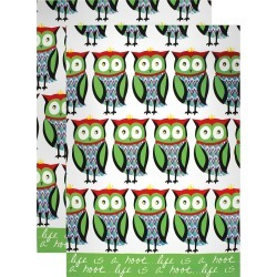 Designer Print Kitchen Towel (Set Of 2) - Mu Kitchen, Multi-Colored