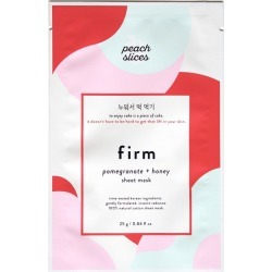 Peach Slices Firm Sheet Mask found on MODAPINS from target for USD $2.49