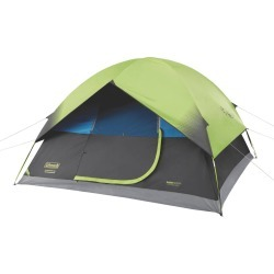 Coleman 6-Person Dark Room Sundome Tent - Green, Gray found on Bargain Bro India from target for $130.99