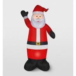 Gemmy Santa Inflatable Holiday Decoration