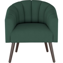 Modern Barrel Chair in Linen Conifer Green - Project 62 found on Bargain Bro India from target for $439.99