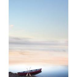 80ct Canoe Adventure Letterhead Blue