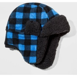 Boys' Fleece Trapper Hat - Cat & Jack Blue 8-16, Boy's found on Bargain Bro Philippines from target for $7.99