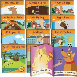 Junior Learning Letter Sound Readers - Fiction Learning Set
