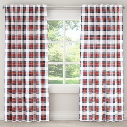Blackout Curtain Stewart Dress Multi 96L - Skyline Furniture, White found on Bargain Bro India from target for $132.99