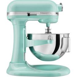 KitchenAid Professional 5qt Mixer Ice Blue KV25G0X, White Blue