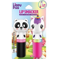 Lip Smacker Lippy Pals Panda and Unicorn Lip Balm -.28oz, Clear found on MODAPINS from target for USD $4.89