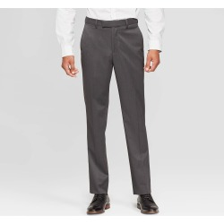 Men's 30 Slim Fit Suit Pants - Goodfellow & Co Dark Gray 38x30 found on Bargain Bro India from target for $34.99
