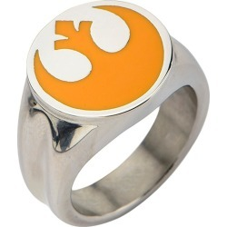 Men's Star Wars Stainless Rebel Alliance Symbol Ring, Size: 9, Silver found on MODAPINS from target for USD $20.12