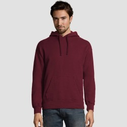 Hanes Men's Big & Tall Comfort Wash Fleece Pullover Hooded Sweatshirt - Cayenne 3XL, Red found on Bargain Bro Philippines from target for $22.49