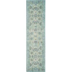Valencia Rug - Light Blue/Turquoise - (2'3